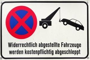 Ein absolutes Parkverbot sollte nicht ignoriert werden.