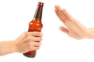 Wenn Sie Alkohol ablehnen, brauchen Sie keinen Alkomat, um Ihren Alkoholgehalt zu messen.