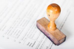 Anhörung im Bußgeldverfahren: Angaben zur Person sind Pflicht.