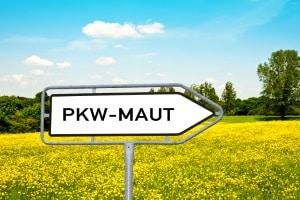 Auf der Autobahn in Dänemark gibt es noch keine PKW-Maut.