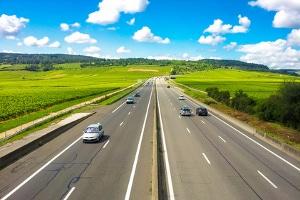 Autobahn in Rumänien: Hier ist eine elektronische Vignette erforderlich.