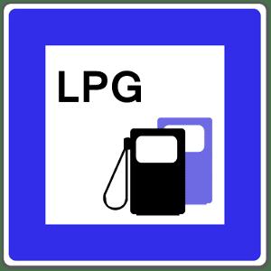 """Autogas wird an Tankstellen mit der Abkürzung """"LPG"""" ausgezeichnet."""