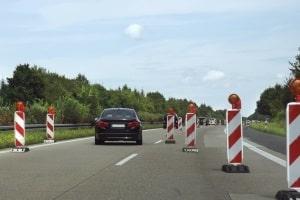 Im Bereich der Baustelle geblitzt? Für Autobahn-Baustellen gelten keine gesonderten Bußgelder.
