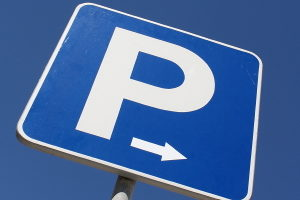 Ein Besucherparkausweis verleiht auch Gästen besondere Parkrechte.
