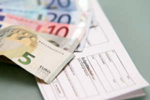 Der Bußgeldbescheid wird auf Basis vom Bußgeldkatalog erstellt.