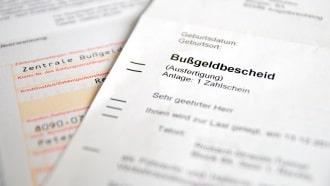 Ein Bußgeldbescheid aufgrund einer Induktionsmessung kann angefochten werden.