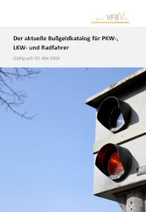 Die Titelseite des Bußgeldkatalog-PDFs.