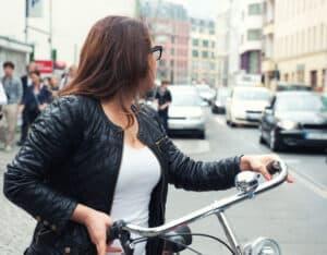 Der Bußgeldkatalog-Fahrrad sieht auch Punkte in Flensburg vor
