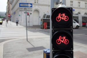 Der Bußgeldkatalog sieht auch Punkte für Fahrradfahrer vor.