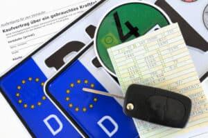 Deutsche Autokennzeichen folgen einem bestimmten Muster.