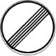Ende sämtlicher streckenbezogener Geschwindigkeitsbeschränkungen
