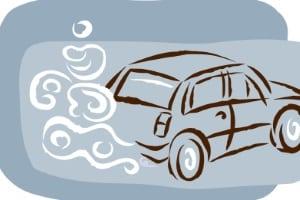 Ein Kfz mit Euronorm 2 hat einen geringeren Schadstoffausstoß als ein Euro-1-Auto.