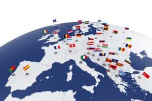 Ein europäischer Unfallbericht kann auf Deutsch mitgeführt werden.