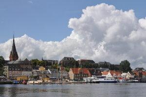 Das Fahreignungsregister (FAER) liegt in Flensburg im Norden der Republik.