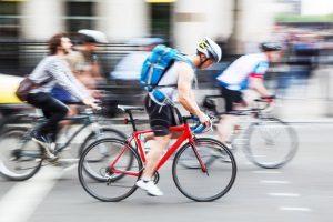 Auf dem Fahrrad gilt keine allgemeine Geschwindigkeitsbegrenzung.