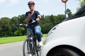 Fahrradunfälle in Berlin geschehen häufig.