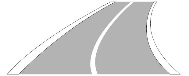 Worin unterscheiden sich  Fahrstreifenbegrenzung und Fahrbahnbegrenzung?
