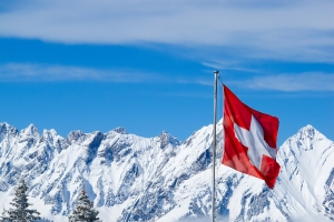 Winterreifen oder Ganzjahresreifen/Allwetterreifen: Die Schweiz schreibt keine bestimmte Bereifung vor.
