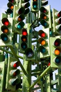 Ist es erlaubt, eine gelbe Ampel zu überfahren?