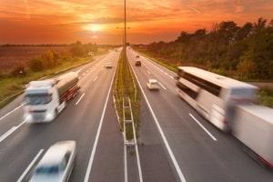 Die zulässige Geschwindigkeit in Italien beträgt für die Autobahn 130 km/h.