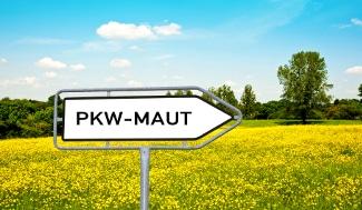 Kommt die PKW-Maut? Im Jahr 2017 soll es endlich so weit sein.