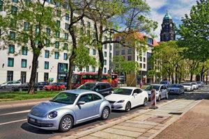 Eine kurzfristige Halteverbotszone ist vor allem in großen Städten oft notwendig.