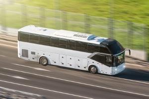 Die Lenkzeiten können beim Reisebus abweichen.