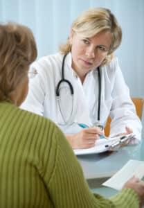 Ärztliche Untersuchung im Rahmen einer MPU.