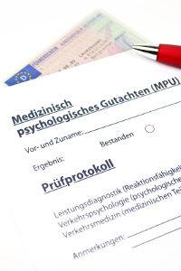 Um ein positives Gutachten zu erhalten, muss der MPU-Reaktionstest bestanden werden.
