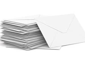 Die Behörden müssen die Postlaufzeiten beachten, wenn Sie einen Bußgeldbescheid versenden.