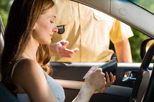 Während der Probezeit den Führerschein zu vergessen hat selten schwere Folgen.
