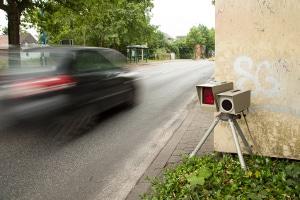 Wurden Sie von einem Radar erwischt? Punkte drohen ab einer Überschreitung von 21 km/h.