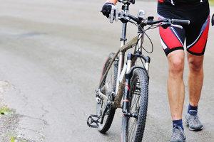 Reflektorfolie kommt am Fahrrad auch ab und zu zum Einsatz. Strenggenommen ist auch das nicht erlaubt.