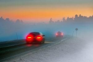 Die Schrecksekunde kann auch durch ungünstige Witterung beeinflusst werden.