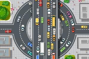 Welches Verhalten schreibt die Straßenverkehrsordnung in einem Kreisverkehr vor?