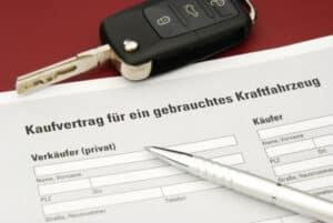 Ein Überführungskennzeichen benötigen Sie, wenn Sie ein Fahrzeug ohne Zulassung gekauft haben.