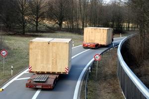 Überstehende Ladung beim Lkw: Welche Regelungen müssen beachtet werden, etwa zur Kennzeichnung?