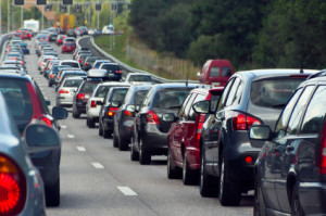 Wenn Sie auf ein Stauende auffahren, ist ein Unfall auf der Autobahn nicht zu vermeiden.