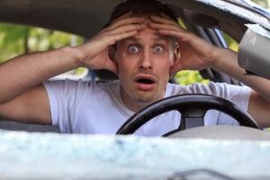 Einen Unfall, den Sie provozieren, übernimmt unter Umständen die Versicherung nicht.