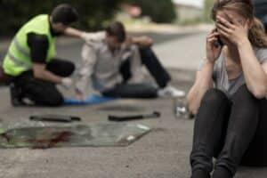 Die Priorität nach einem Verkehrsunfall ist: Den Unfall absichern.