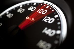 Mit VDS M5 Speed kann die Geschwindigkeit gemessen werden.