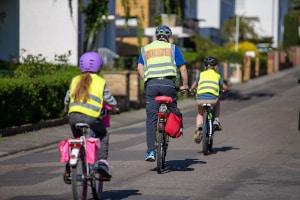 Verkehrsregeln: Auch Radfahrer müssen sich an das Rechtsfahrgebot halten.