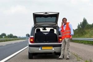 Laut den Verkehrsregeln in Spanien muss eine Warnweste im Auto vorhanden sein.