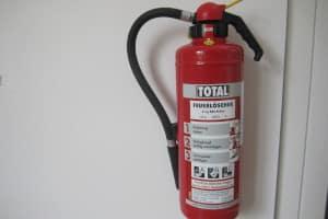 Im Wohnmobil ist ein Feuerlöscher keine Pflicht.