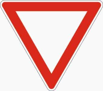 Das Zeichen 205 kennzeichnet eine Nebenstraße.